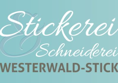 Logo Stickerei